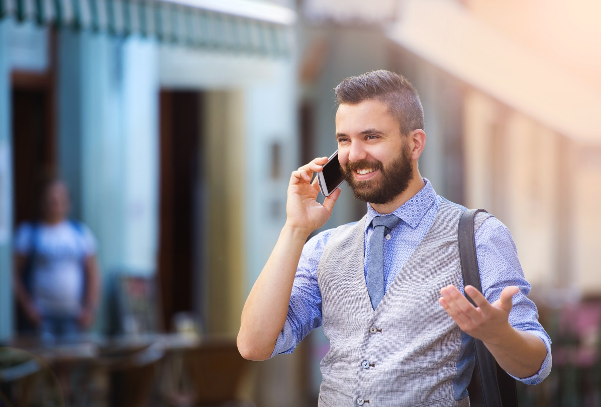 homme telephone portable forfait mobile